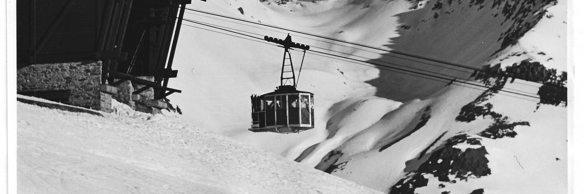 The Galzigbahn in St. Anton